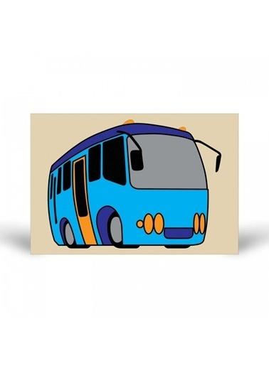 Artikel Otobüs-2 Tuz Boyama Renkli